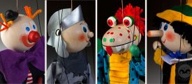 Marionettes for the little ones
