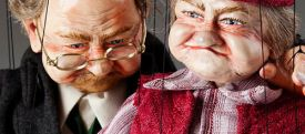 Old Couple Marionettes