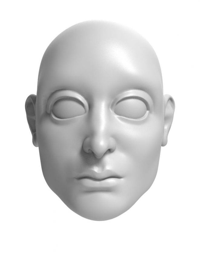 Prince - head model for 3D printing