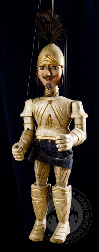Knight - antique marionette