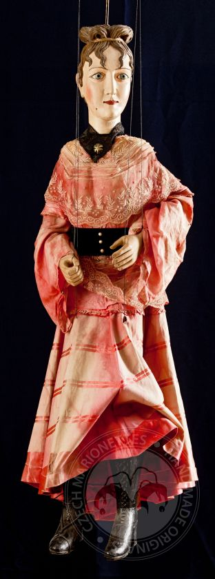 Noblewoman - antique marionette