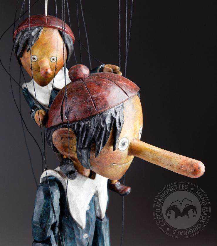Superstar marionette living Pinocchio large