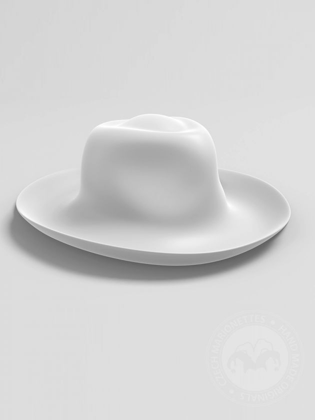 Country hat for 3D print