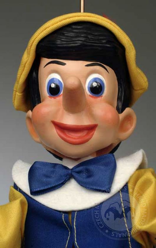 Pinocchio Cartoon Puppet