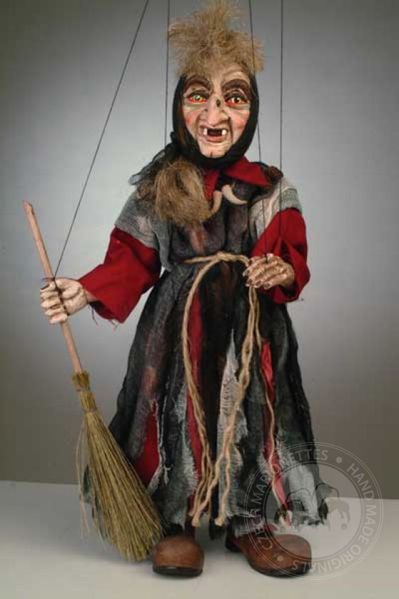 Small Witch Puppet