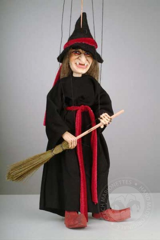 American Witch Marionette