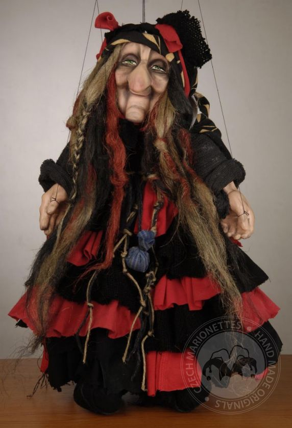 Cute Witch Puppet