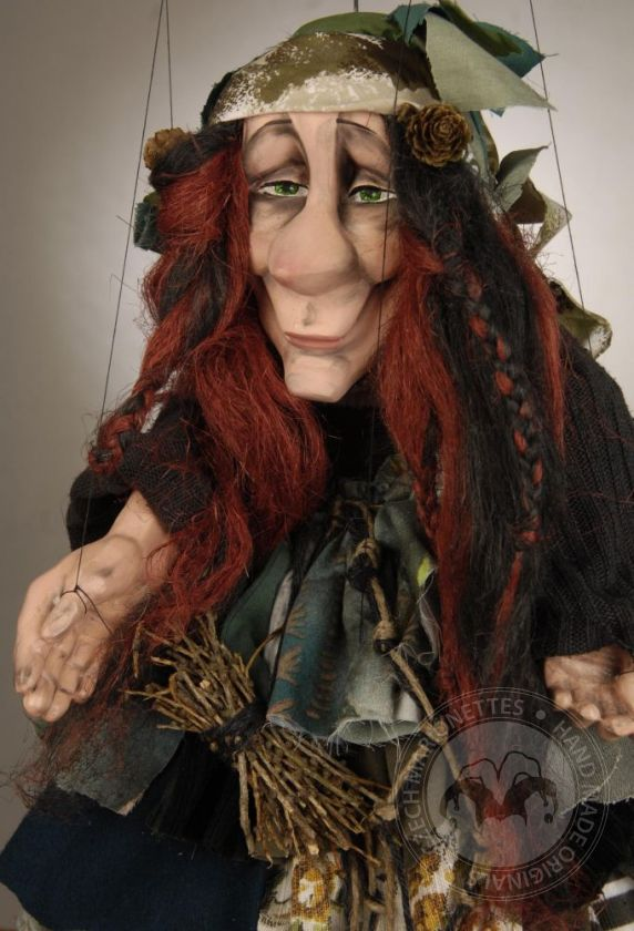 Green Witch Marionette