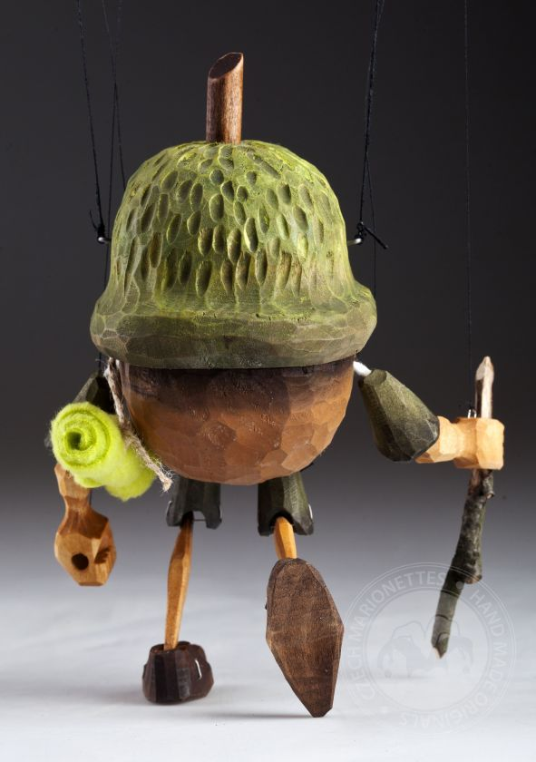 Chiff-Chaff wooden string puppet
