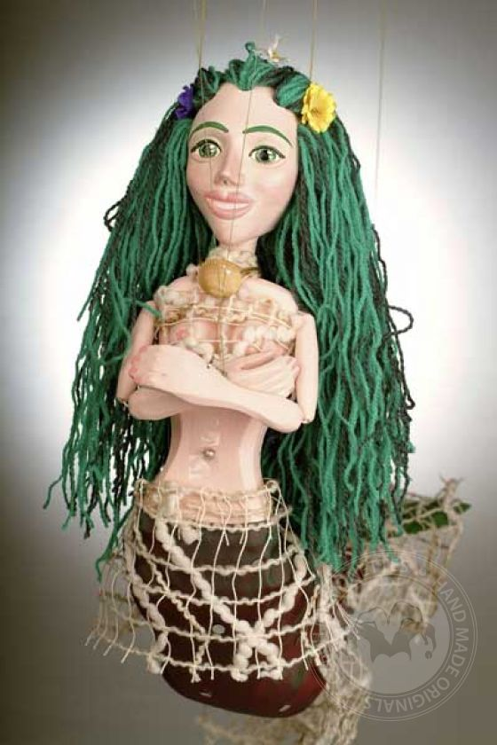 Mermaid Marionette puppet