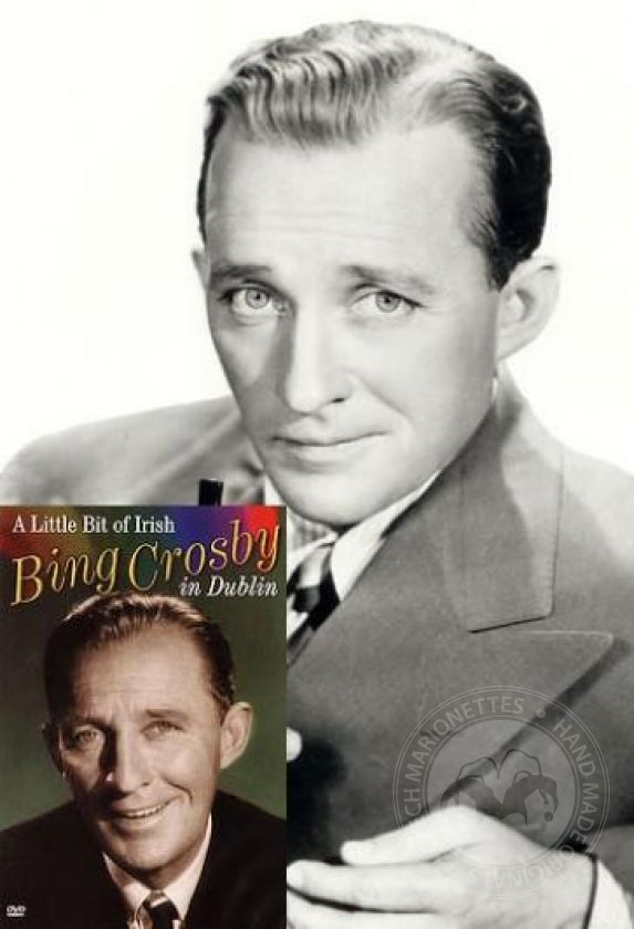Bing Crosby – custom marionette