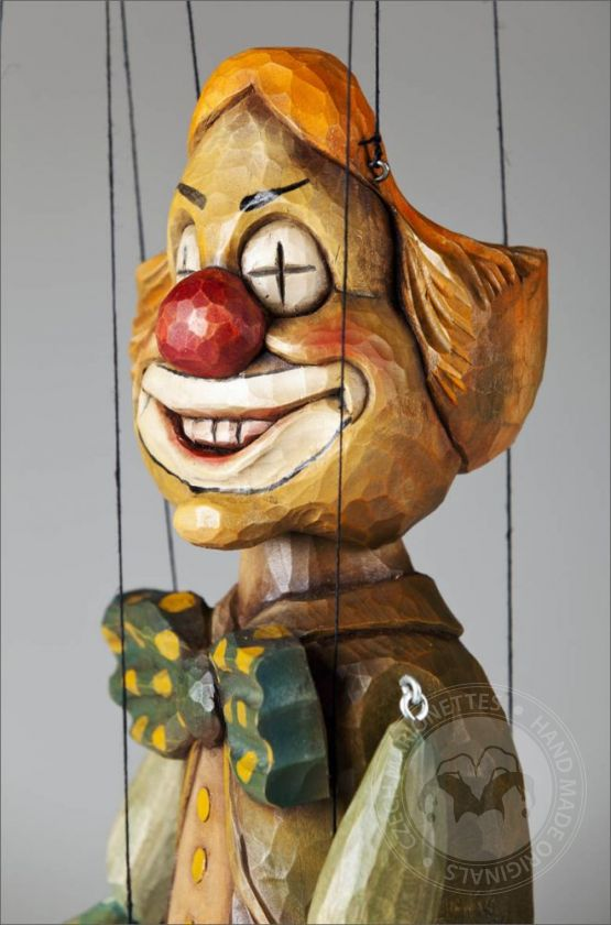 Clown Augentrost Puppe