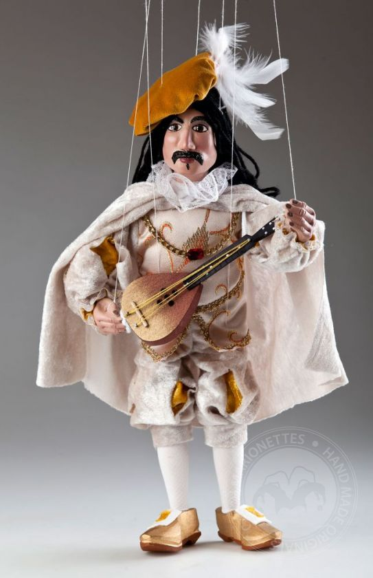Ukulele Player Czech Marionette Puppet