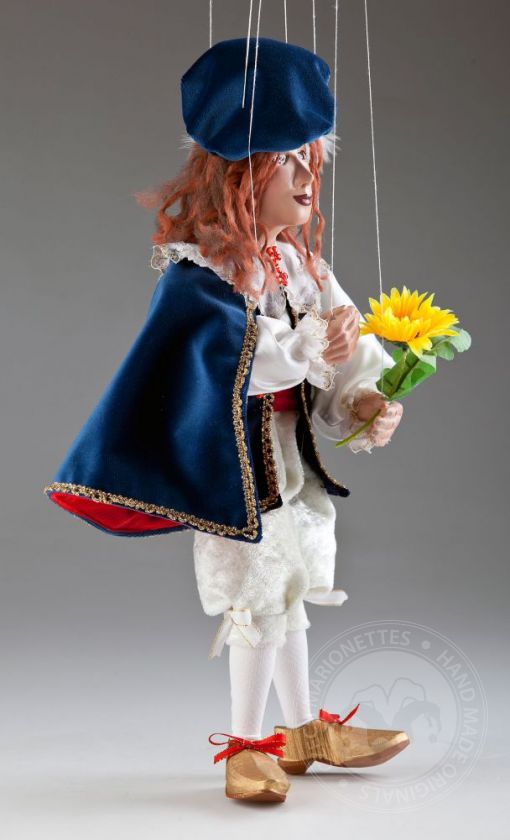 Prince Damian Czech Marionette Puppet