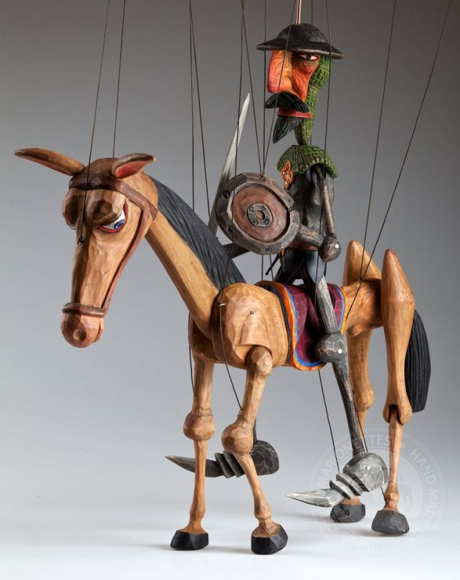 Don Quichotte Czech Marionette