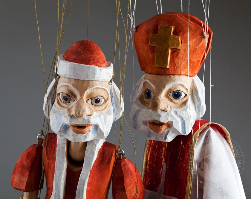 Santa Claus and Saint Nicholas
