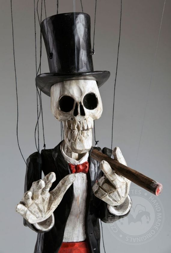 Gentleman Skeleton Marionette