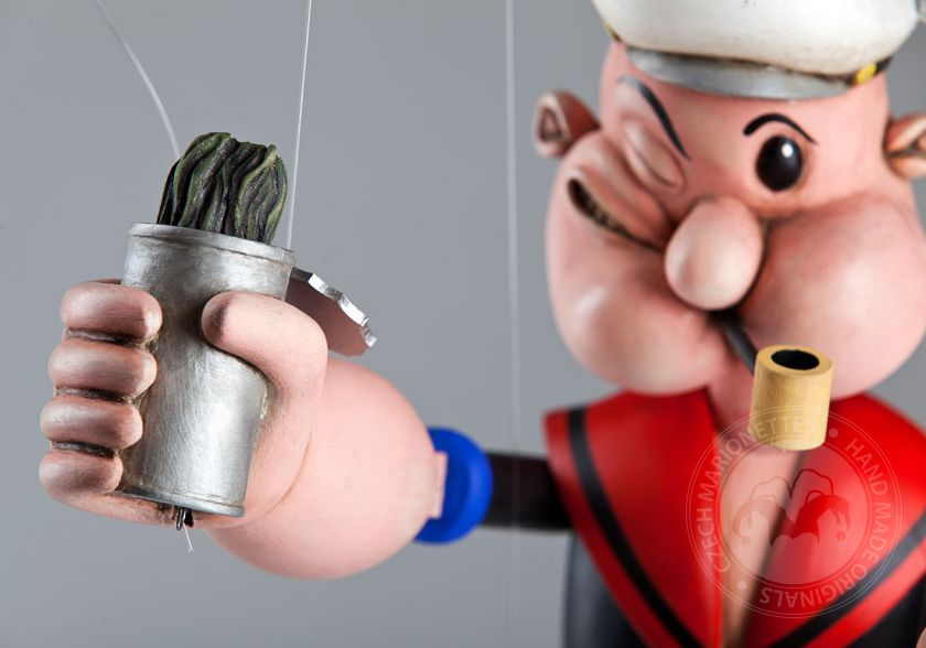Popeye the Sailor Marionette