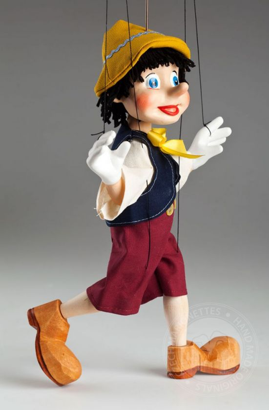Young Pinocchio Marionette