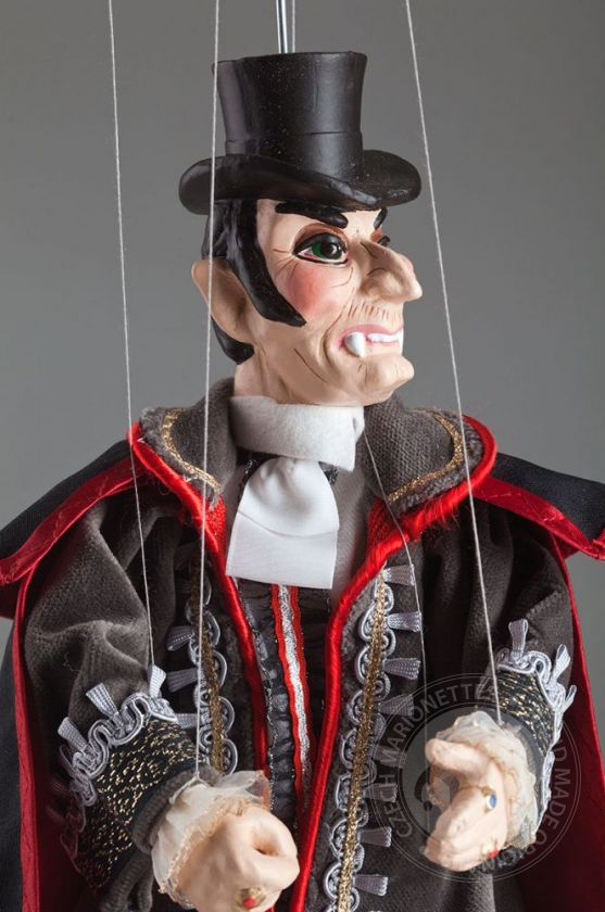 Sir Dracula Marionette