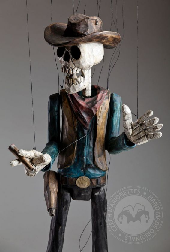 Tote Cowboy Marionette