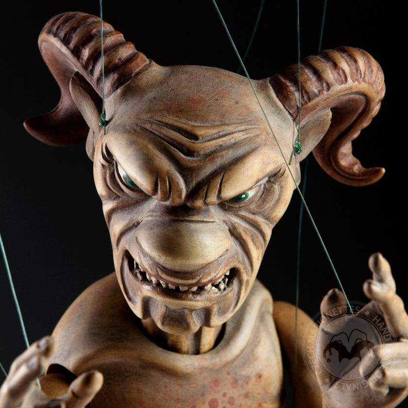 Traditional baroque devil that gives you the shivers – Masterpiece – will not repeate