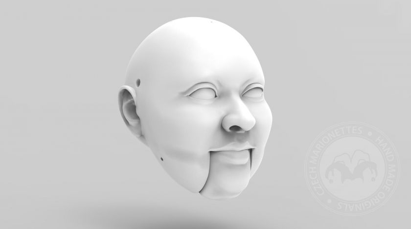 3D model: Woman - well fed type