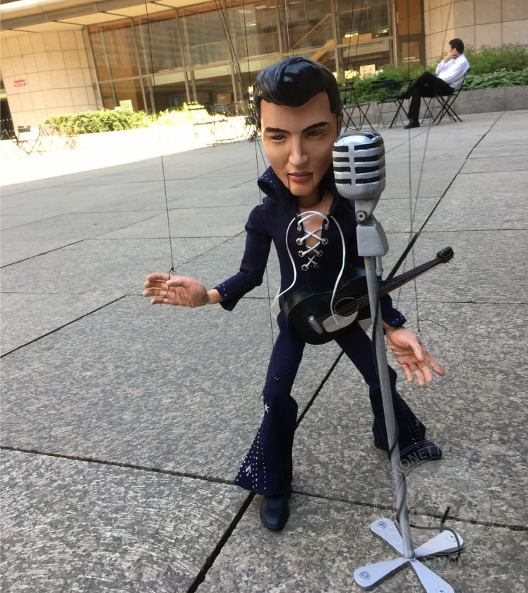 Custom marionette from 3D file up to 40cm (16 inches)