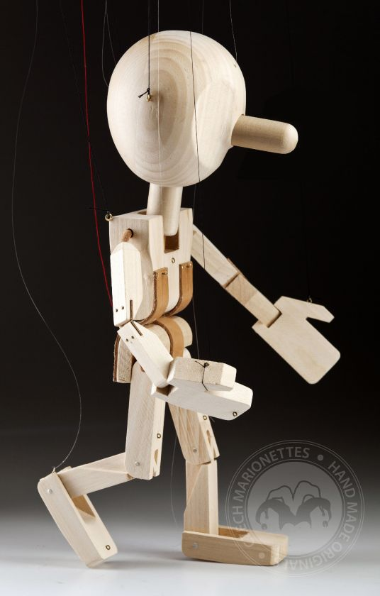 Anymator (ANY 2.0) – Universal Full Control Marionette with Pinocchio nose