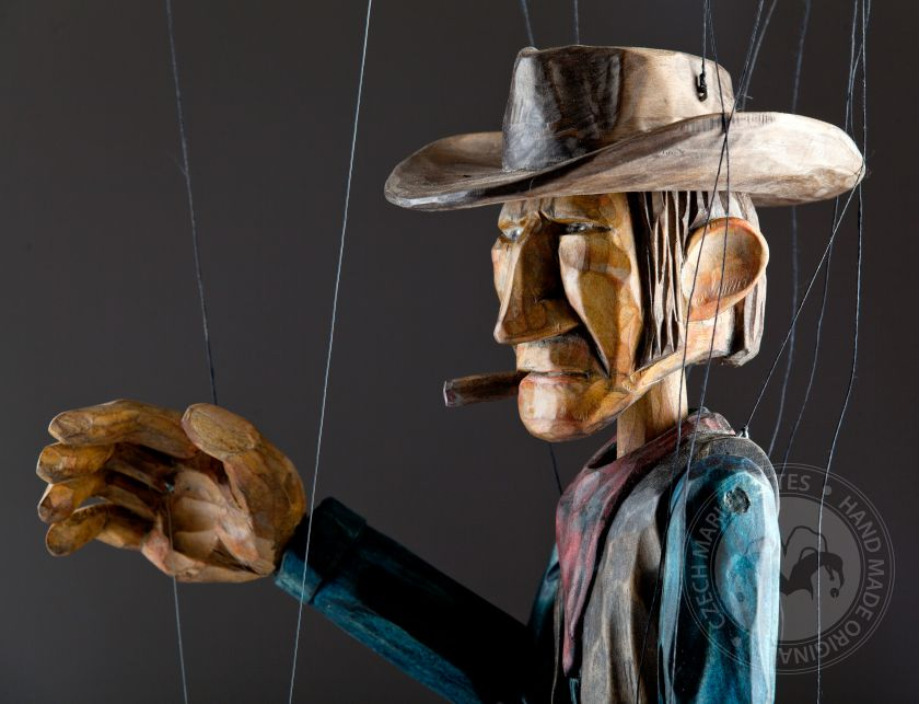 Butch Cassidy (USA) - Cowboy-Marionette