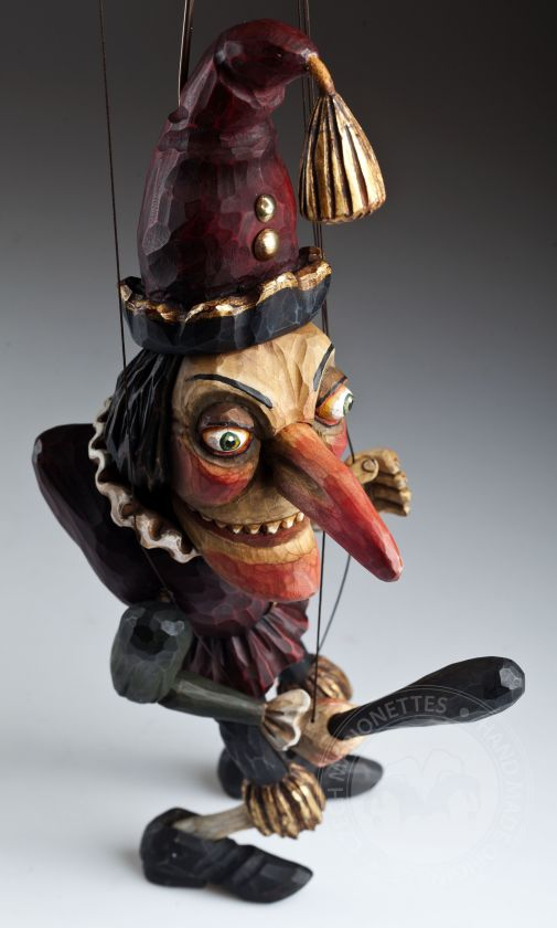 Hand carved Mr. Punch