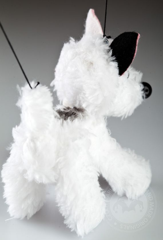 Hurvinek's dog marionette