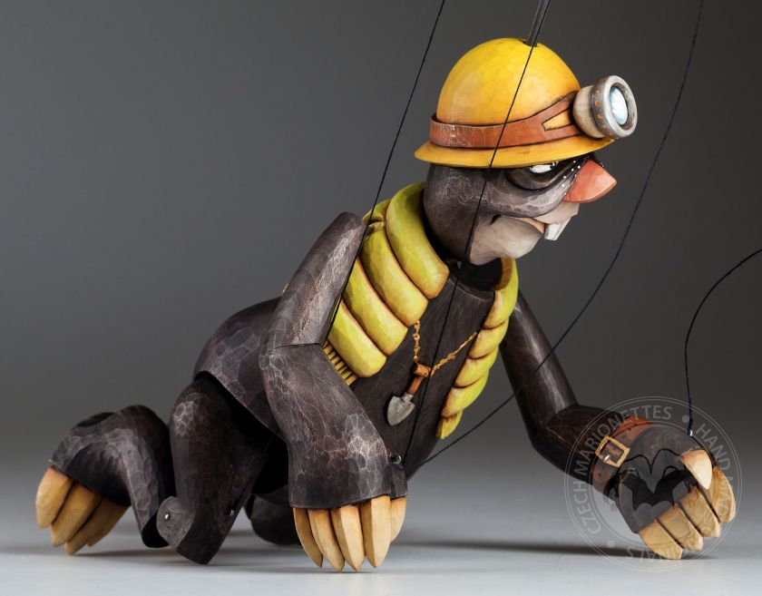 Mole as a marionette of miner