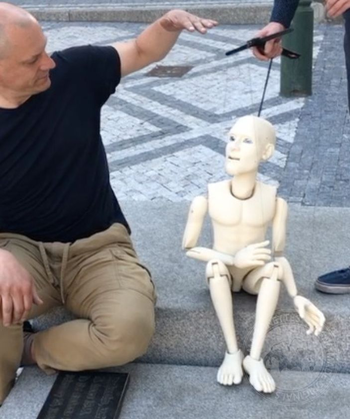 Replica of old 100 cm (40 inch) puppet – files for 3D printing