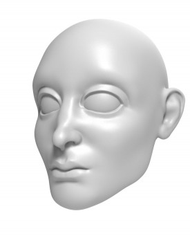 3D Model of Prince head for 3D print