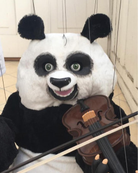 Dancing Panda Puppet - model for 3D printing