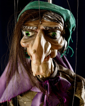 Old Witch - antique marionette