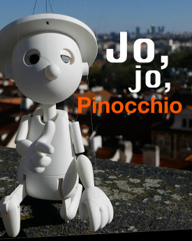 Pinocchio marionette for 3D printing  – Beta 0.9.7