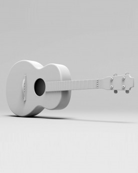 Spanish guitar for 3D print