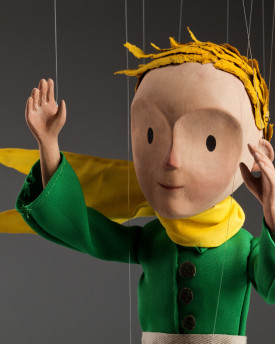 Little Prince - Hand Carved Marionette