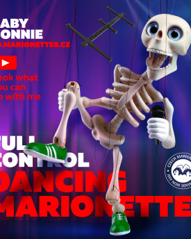 Dancing marionette – Baby Bonnie string puppet – for 3D print