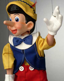 foto: Pinocchio Cartoon Puppet