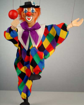 Clown Olda Marionette