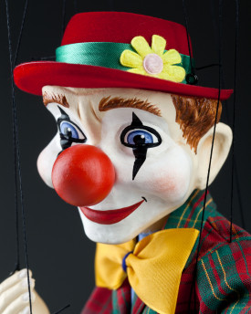 Clown Czech Marionette