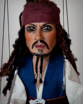 Marionnette: Le Pirate Jack Sparrow