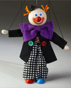 Clown Bert Marionette