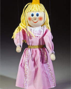 Princess marionettes Pink Rosie and Forget-me-not