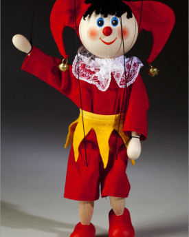 Red nose Jester Marionette