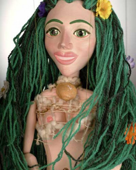 Mermaid Czech Marionette