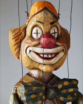 Eyebright Clown Marionette